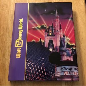 Walt Disney World Souvenir Hardback Book
